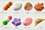 かわいい和菓子1